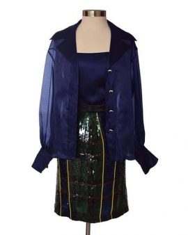 Escada Couture Blue Set Size 40 US 10