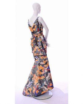 Oscar De La Renta Sleeveless Maxi Dress Size 6