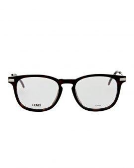 Fendi FF0226 Tortoiseshell-Look Square Optical Frames
