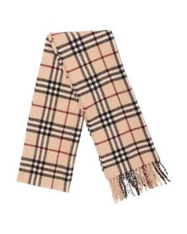 Burberry London Nova Check Wool Scarf