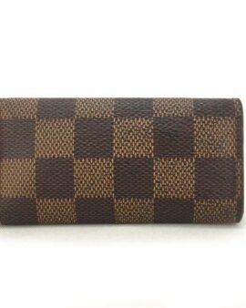 Authentic Louis Vuitton Damier Multicles 4 Ring Key Case