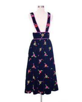 Elizabeth Arden Vintage Velvet Skirt Size Small