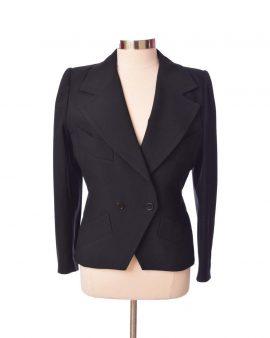 Givenchy Vintage Black Long Sleeves jacket Size Medium