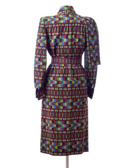 Givenchy Vintage Long Sleeves Midi Dress Size Large