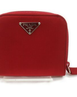 Authentic Prada Red Wallet 1711245