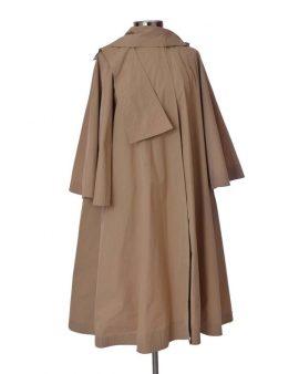 Bonwit Teller Vintage Beige Waterproof Rain Coat Size Medium